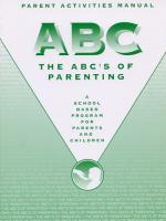 ABC's Activities Manual for Parents (ABCAMP)
