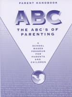 ABC's of Parenting - Parent Handbook (ABCPHB)