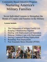 Community Based Education for Military Families CD (CBEMIL-CD)
