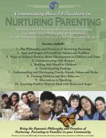 Community Based Education in Nurturing Parenting (CBENP-CD)