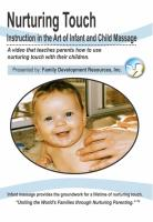 Infant Massage Short Version DVD (IFMSDVD)