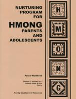 Hmong Activities Manual for Parents (NP10AMP)