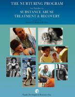 Families in Substance Abuse Treatment & Recovery - Facilitator's Instructional Manual - Group (NP11AMP)