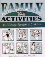 Families in Substance Abuse Treatment & Recovery - Family Activities Manual (NP11FAM)