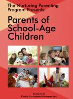 Parents & Their School-Age Children 5-11 Years - DVD (NP1DVD)