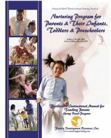 Parents & Their Infants, Toddlers, & Preschoolers - Facilitator's Instructional Manual W/Forms CD for Teaching Parents - Group (NP2GIM-CD)