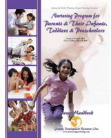 Parents & Their Infants, Toddlers & Preschoolers - Parent Handbook (NP2PHB)