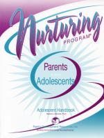 Parents & Adolescents - Adolescent Handbook (NP3AHB)