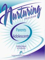 Parents & Adolescents - Activities Manual for Adolescents (NP3AMA)