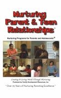 Parents & Adolescents - Nurturing Parent & Teen Relationships DVD (NP3DVD)