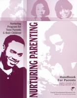 Teen Parents & Their Children - Teen Parent Handbook (NP4PHB)