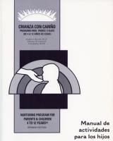 Spanish Speaking Parents & Their Children 4 to 12 Years - Activities Manual for Children (NP8AMC)